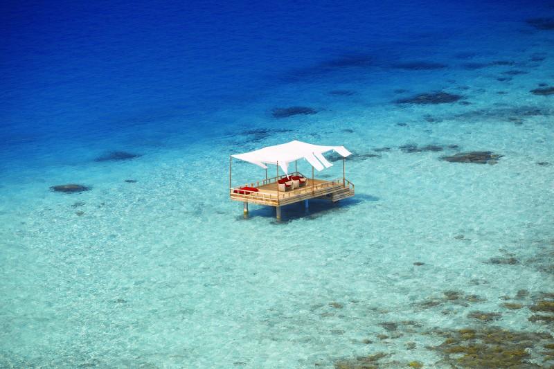 Flittern auf den Malediven - Baros
